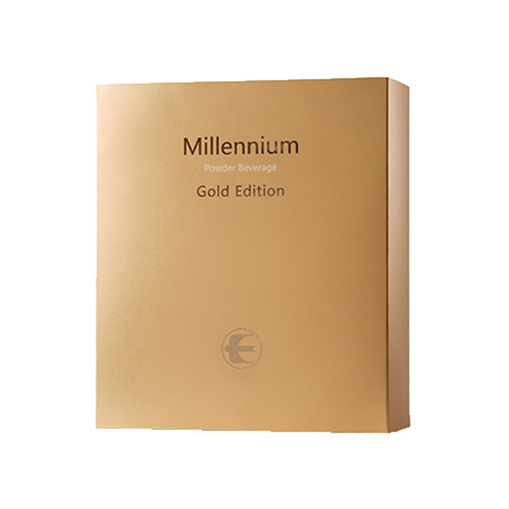 MILLENNIUM POWDERED GOLD EDITION - Packed full of precious botanicals and phytochemicals, make Millennium Gold your daily approach to overall good health. Millennium Gold contains cordyceps mycelium and helps to promote healthy immune system function and endurance.*Featured Ingredients: Prickly Pear Cactus, Cordyceps Mycelium