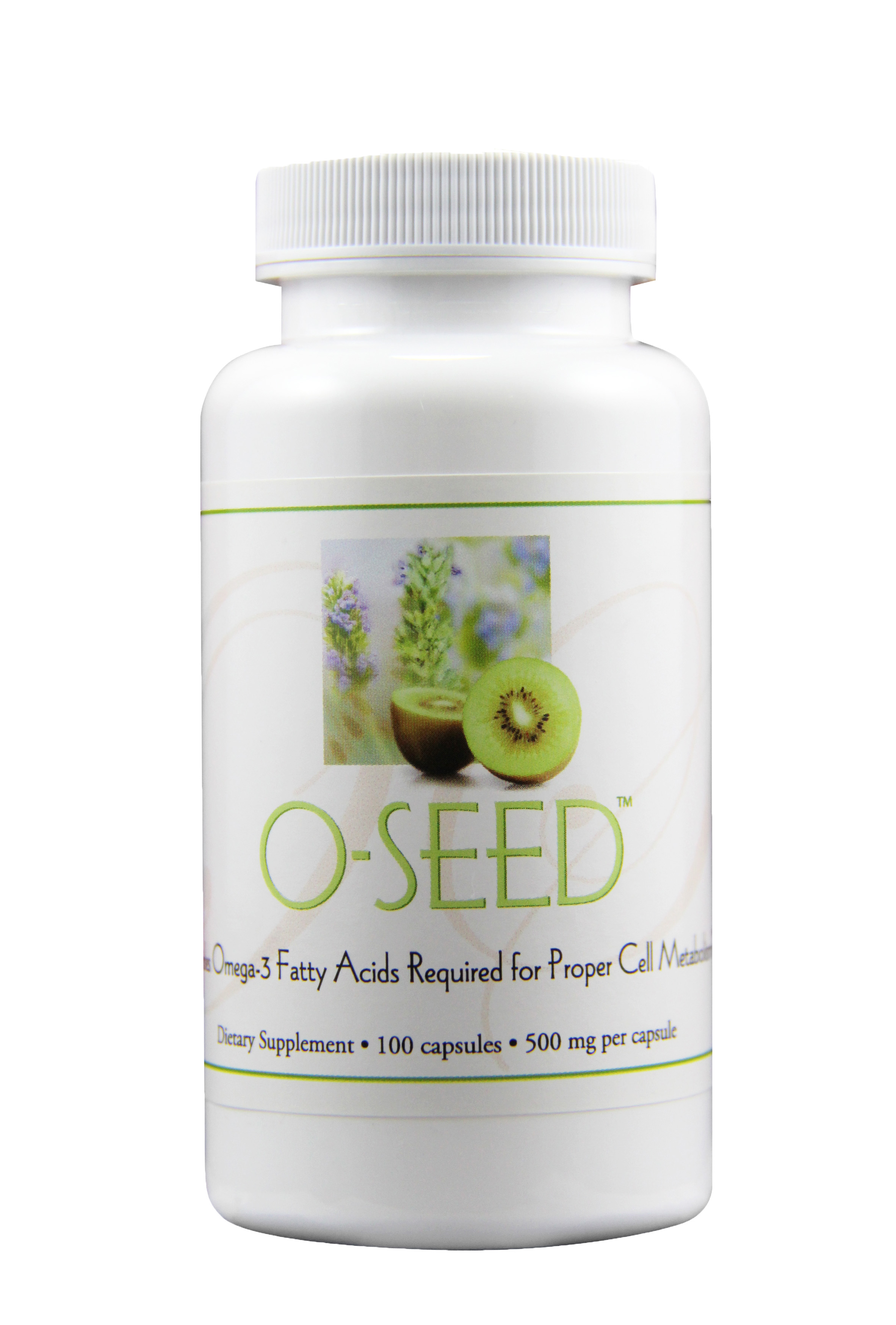 O-SEED - A SOURCE OF ESSENTIAL FATTY ACIDS TO HELP MAINTAIN GOOD HEALTH*Featured Ingredients: Chia Seed, Kiwi Fruit Seed