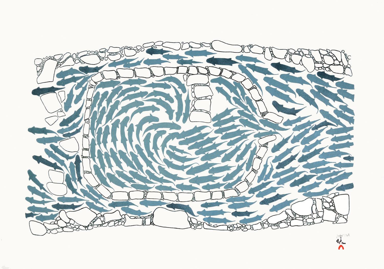 Simeonie Teevee, Saputilt (Handmade Fish Weir)