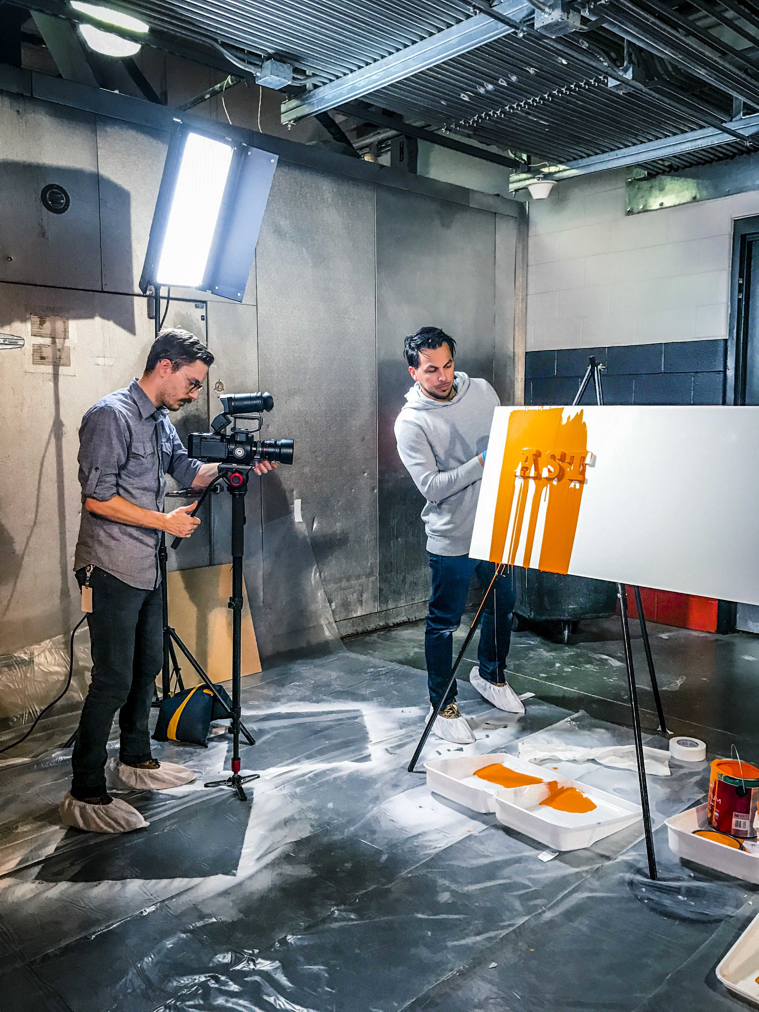 Video Shoot - Video Content & Slow Motion