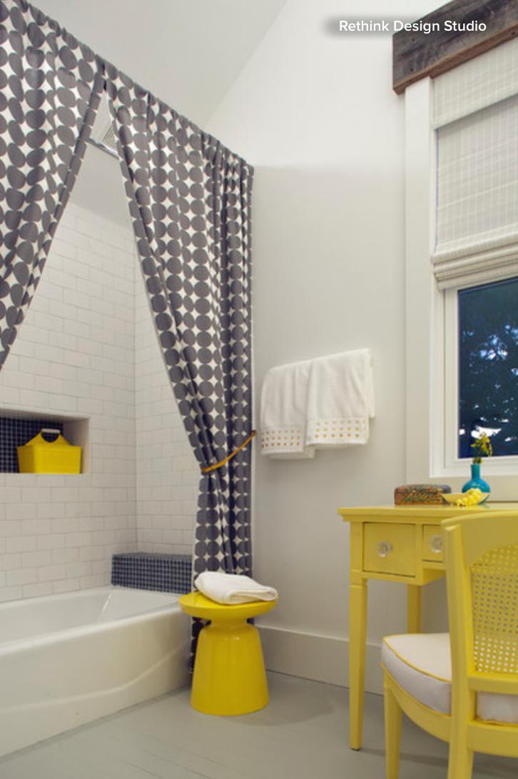 Bathroom Ideas Shower Curtain Or, How To Use 2 Shower Curtains