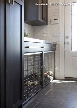 Built In Sleeping Areas For Dogs