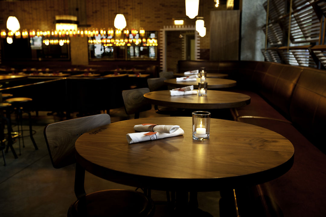 Mood lighting sets the tone for the evening at RN74.  IMAGE:  COURTESY RN74