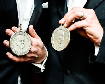 James Beard–blessed medallions.  IMAGE:  COURTESY JAMES BEARD FOUNDATION
