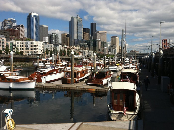 Check out 40 pre-WWII yachts with your favorite nautical dads at the   Bell Harbor Classic Weekend   .CLASSIC WEEKEND VIA FACEBOOK