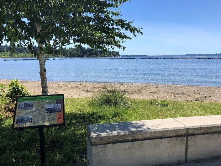 Juanita Beach in Kirkland. (City of Kirkland)