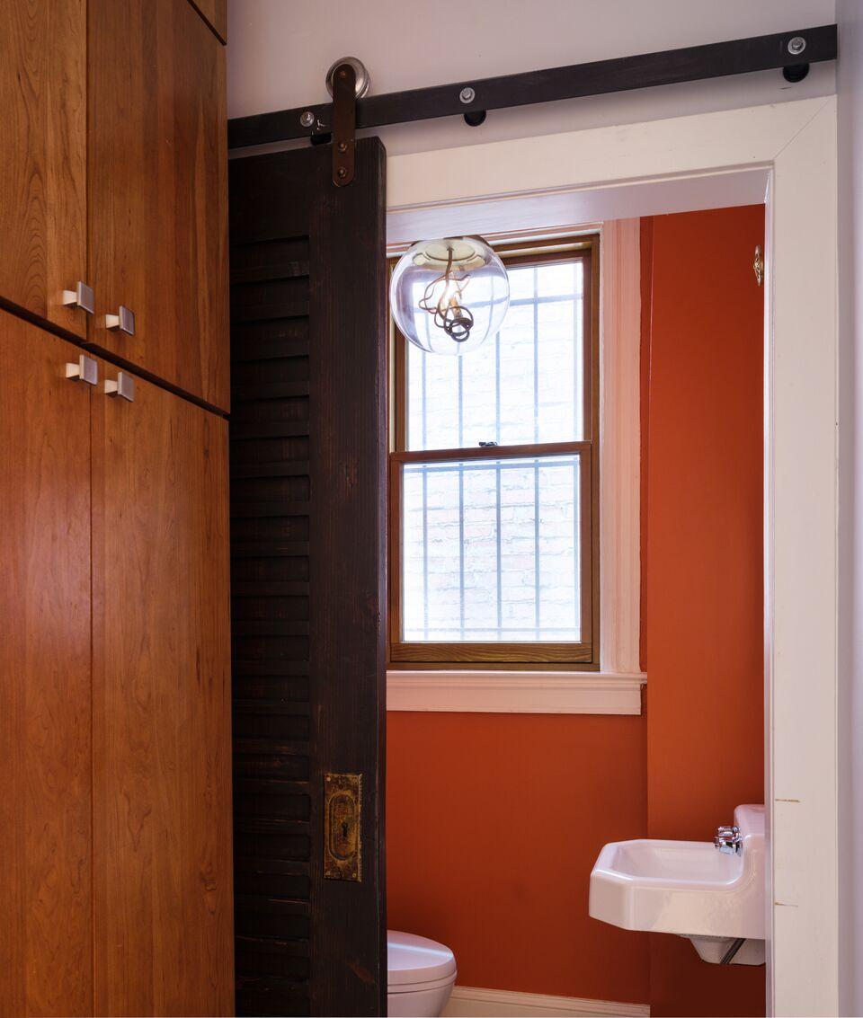 Powder Room, Washington, DC, Farrow & Ball Paint