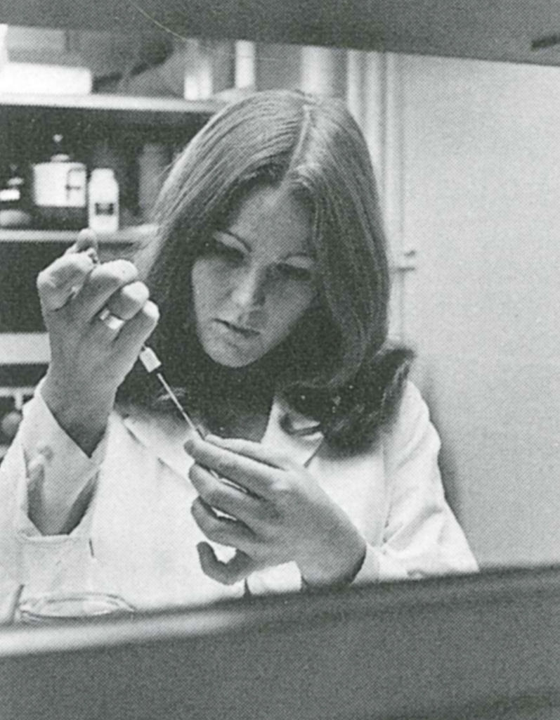 """I came to grips with myself at Caltech because I had to, and maybe I wouldn't have if I had been someplace else."" Sharon Long (BS '73) wrote in an essay for  E&S  in 1973."