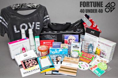 Fortune Magazine's - 40 Under 40 Gift Bag