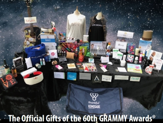 The Official GRAMMY® Gift Bag - in partnership with Distinctive Assets