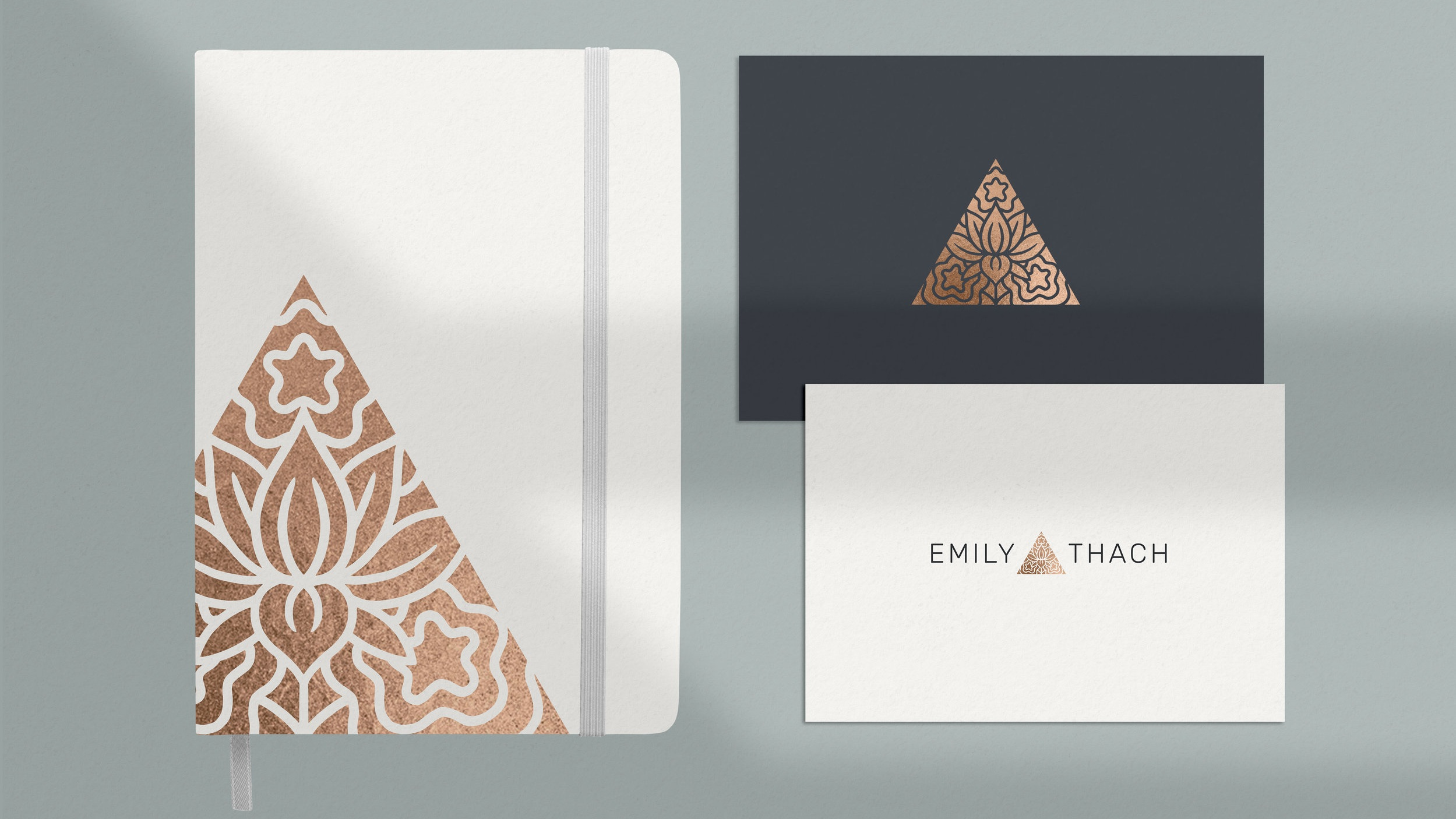 EMILY THACH - PROJECTBrand Strategy, Logo Design, Web Development
