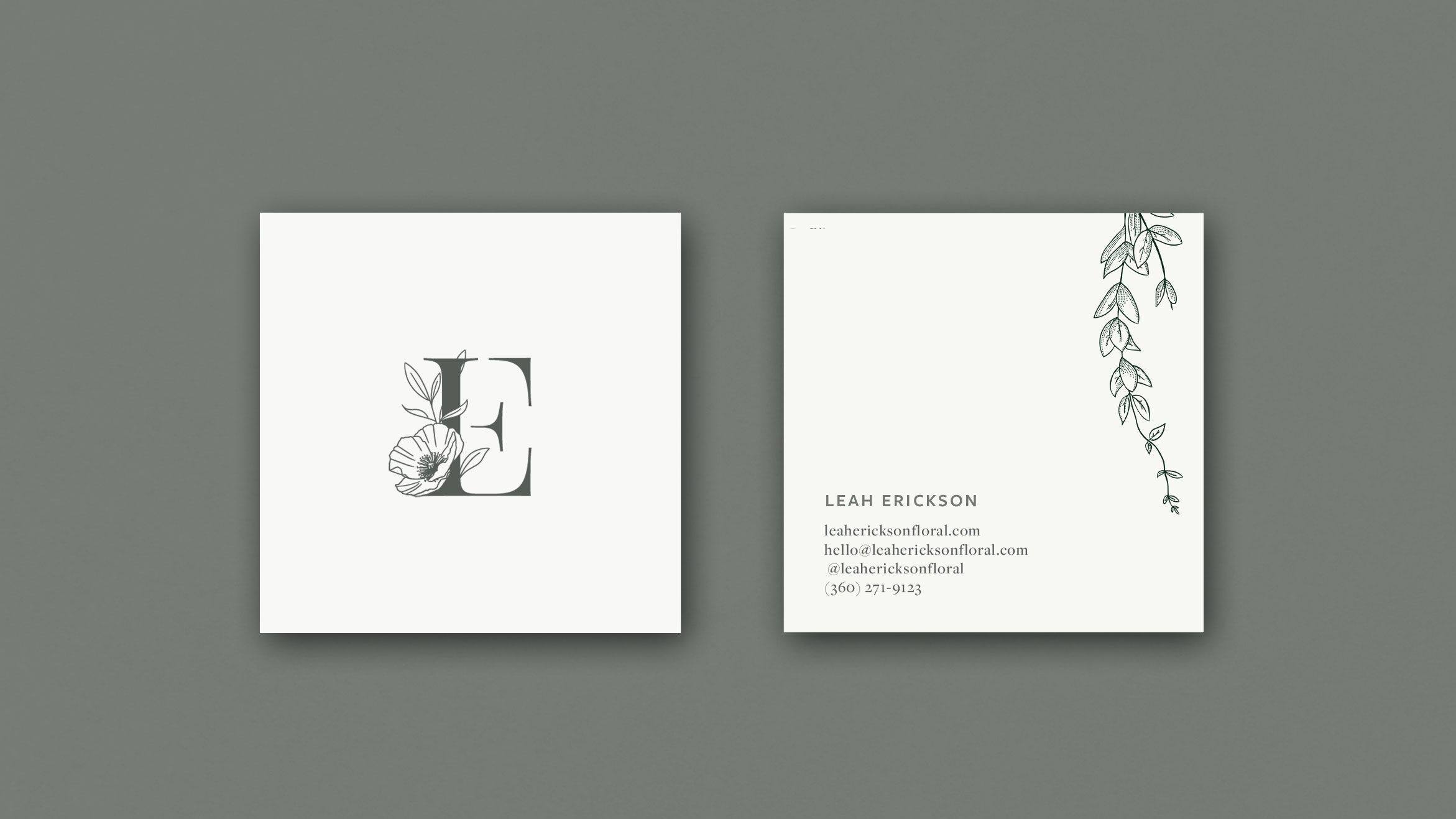 LEAH ERICKSON FLORAL - PROJECTBrand Strategy, Logo Design, Web DevelopmentComing Soon!