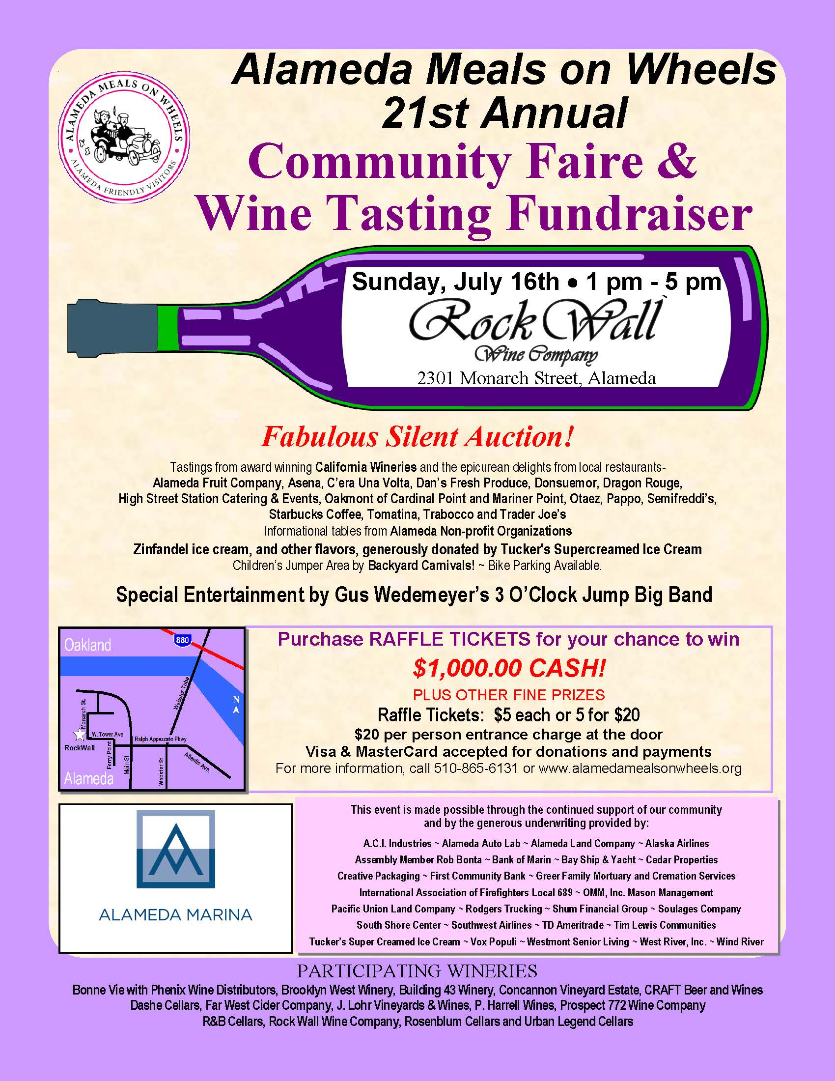 Alameda Meals on Wheels Event