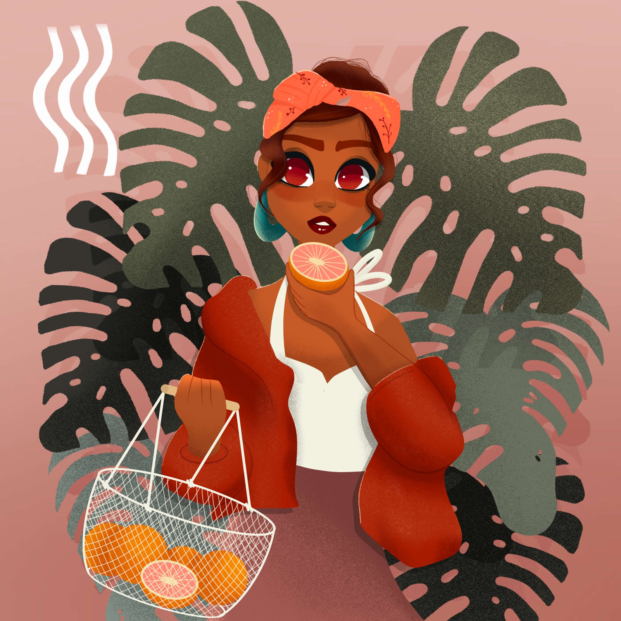 Grapefruit Girl