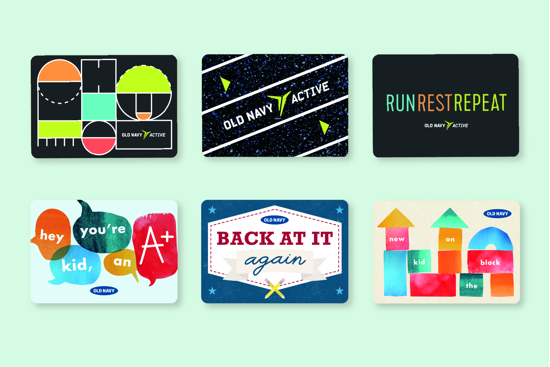 OLD NAVY GIFT CARDS – ACTIVEWEAR & KIDS