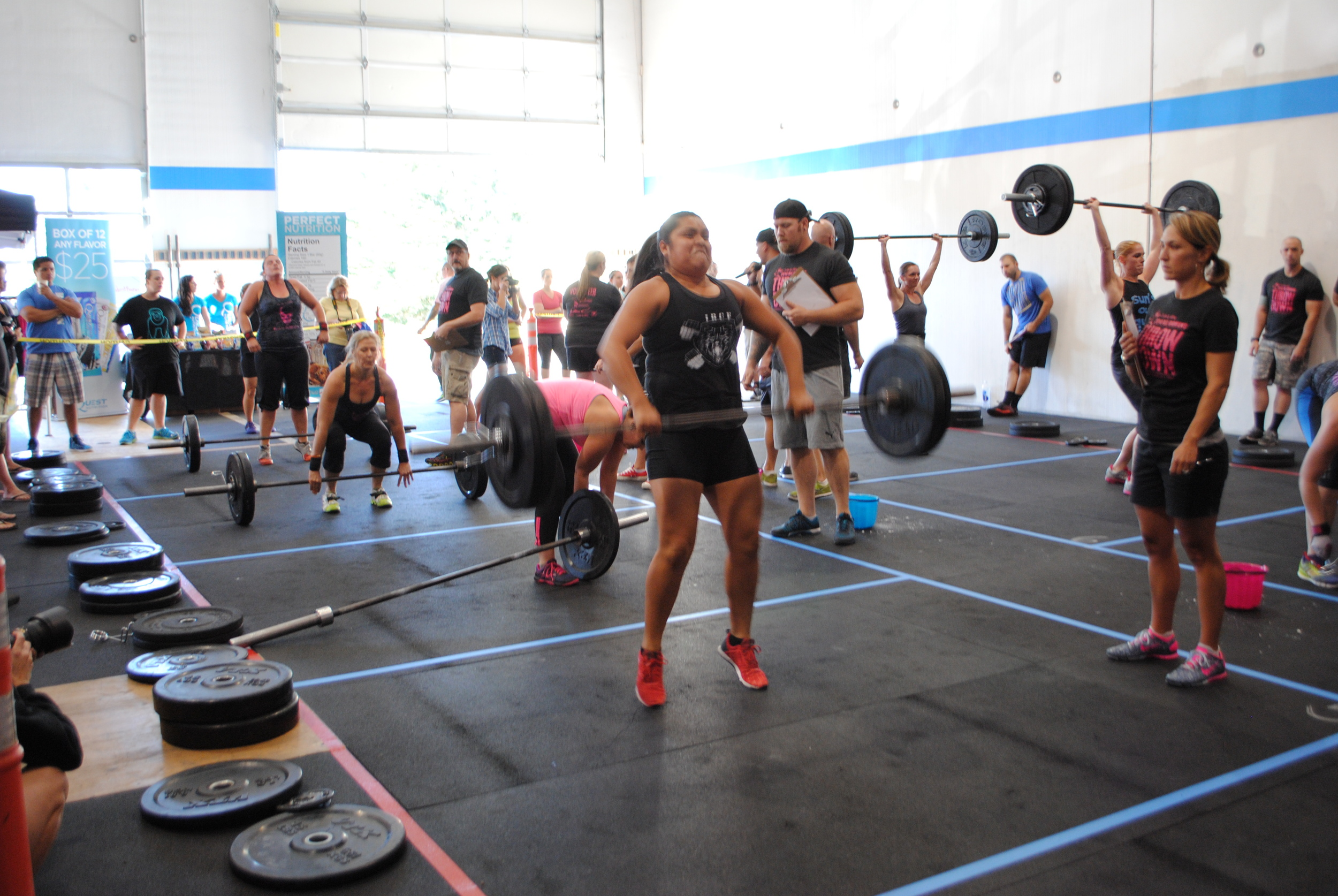 After beginning CrossFit with us less than a year ago, Sara Castaneda competed in her first competition: Booties in Action.