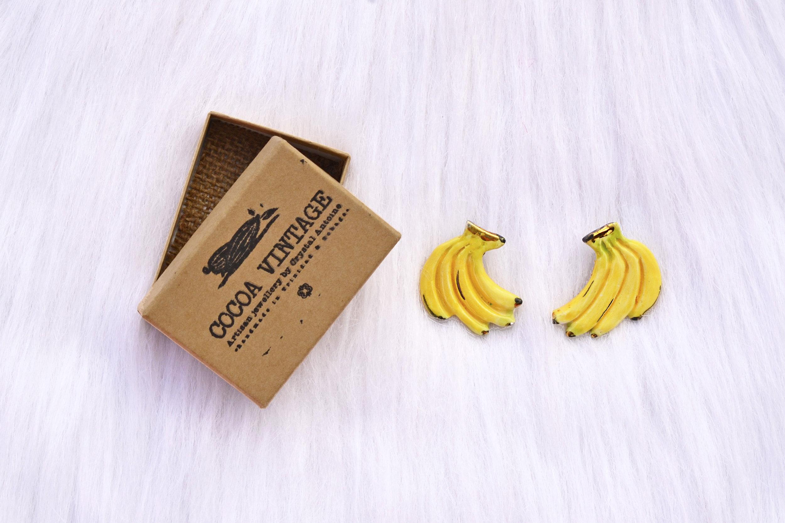 Banana Earrings Cocoa Vintage.JPG