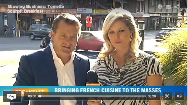 TOMeTTe on TVNZ Breakfast