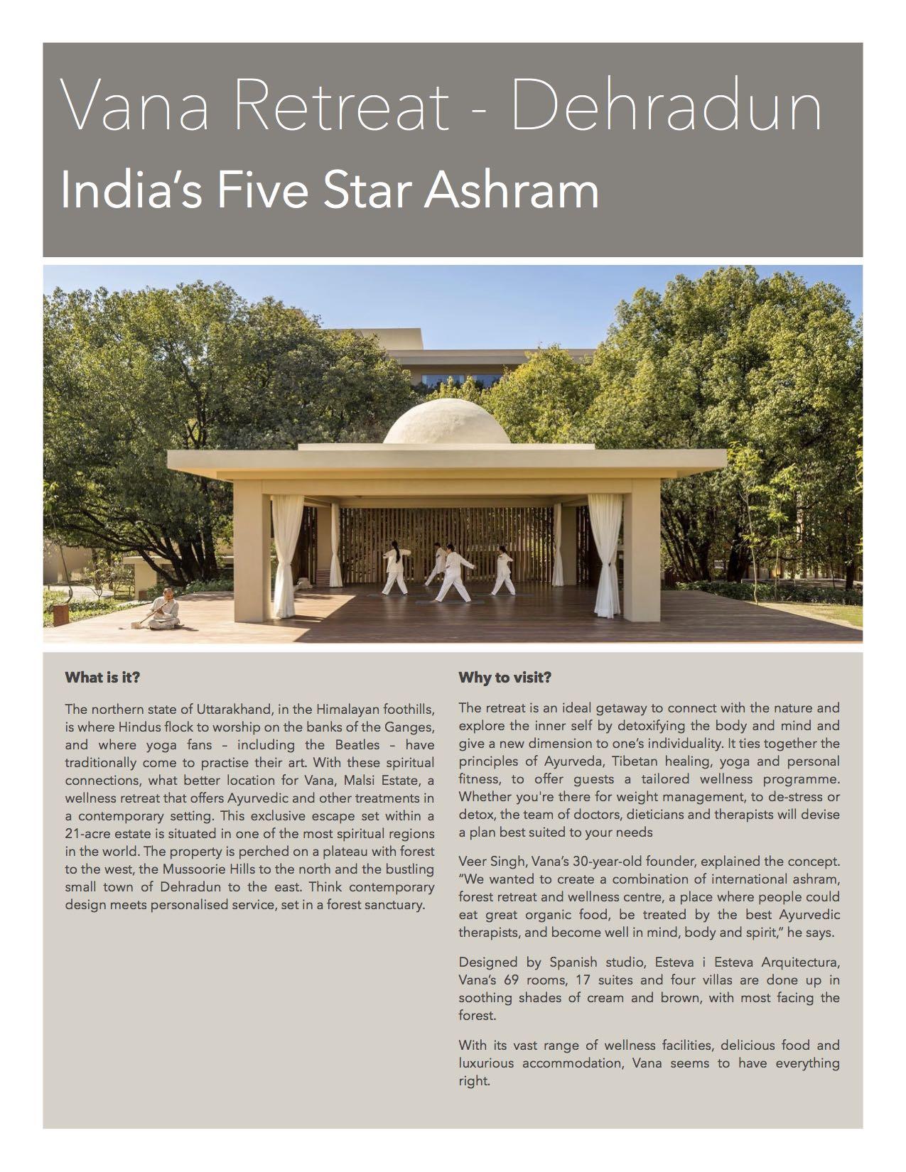 Vana Retreat - Your stay in Dehradun