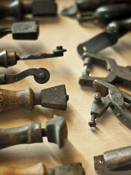Schuhmacher Schuster Werkzeug
