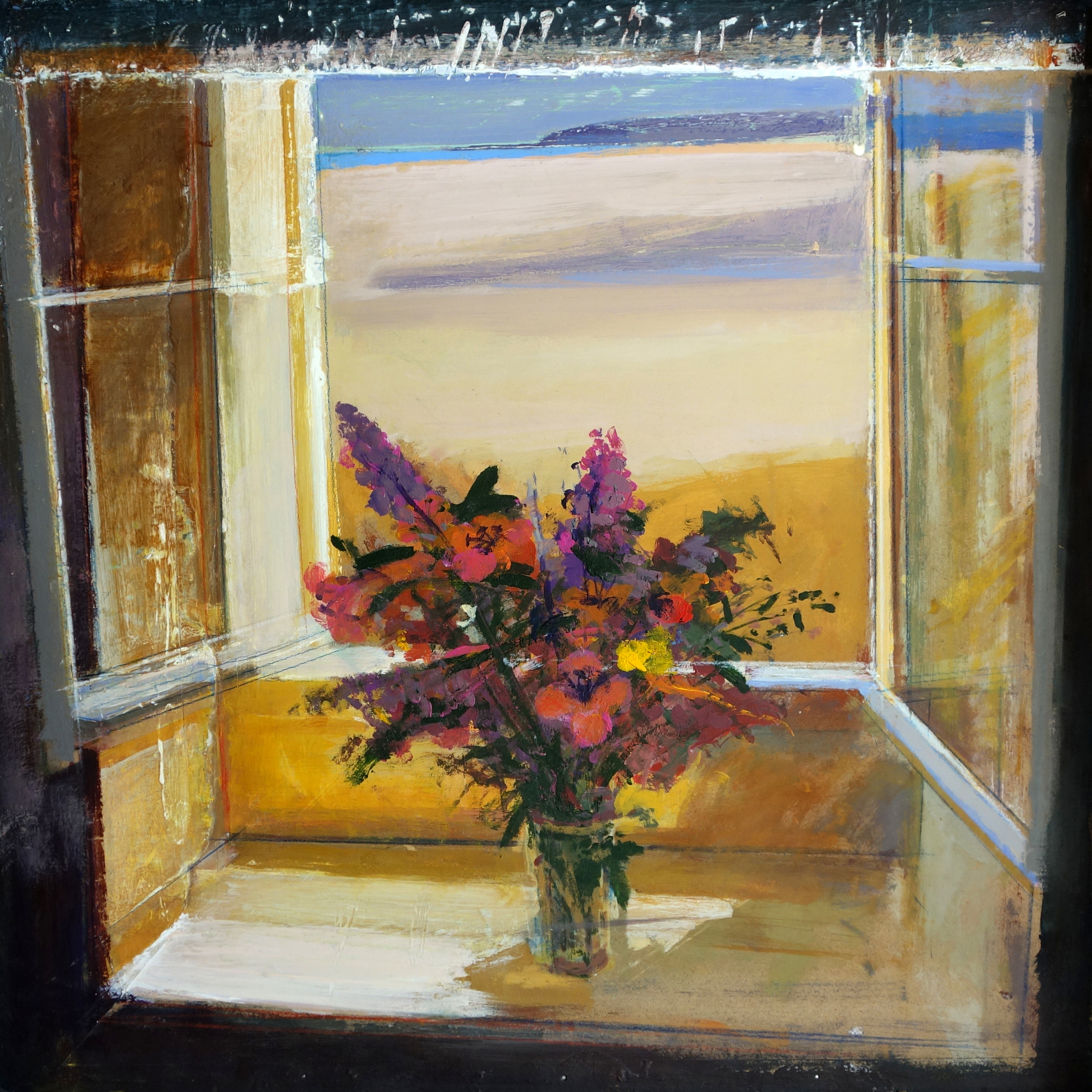 Summer Flowers Cornwall 60x60cm Acrylic & Oil £950.jpg