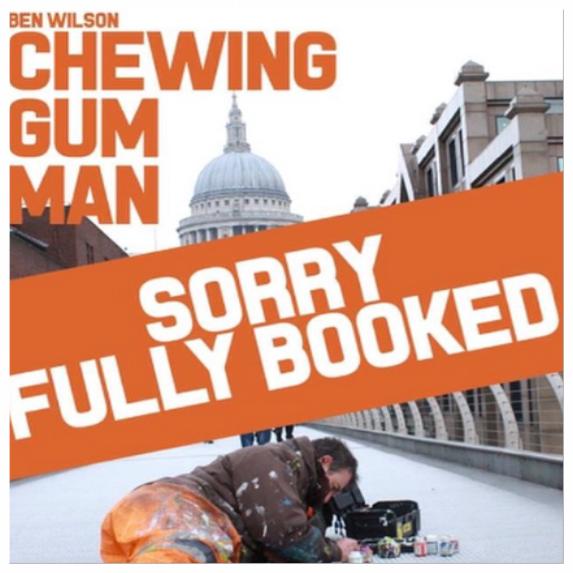 CHEWING GUM MAN