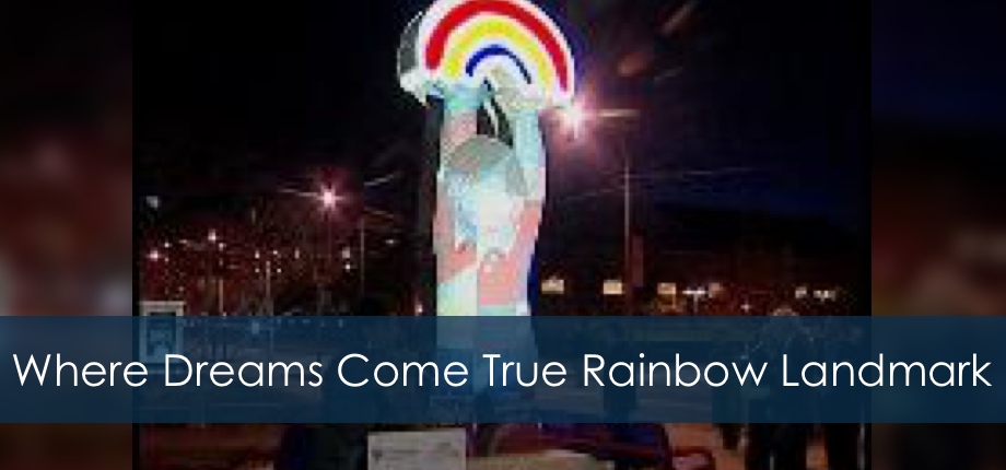 Where Dreams Come True - November Rainbow landmark