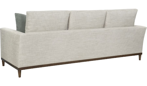 One of my favorite sofas this Market is the Ryder Sofa by Ray Booth for Hickory Chair. It is effortlessly cool and to-die-for comfortable with simple box cushions and a low back that create a modern line in any room. A walnut base and tapered legs make it a stand out that plays well with just about any style.