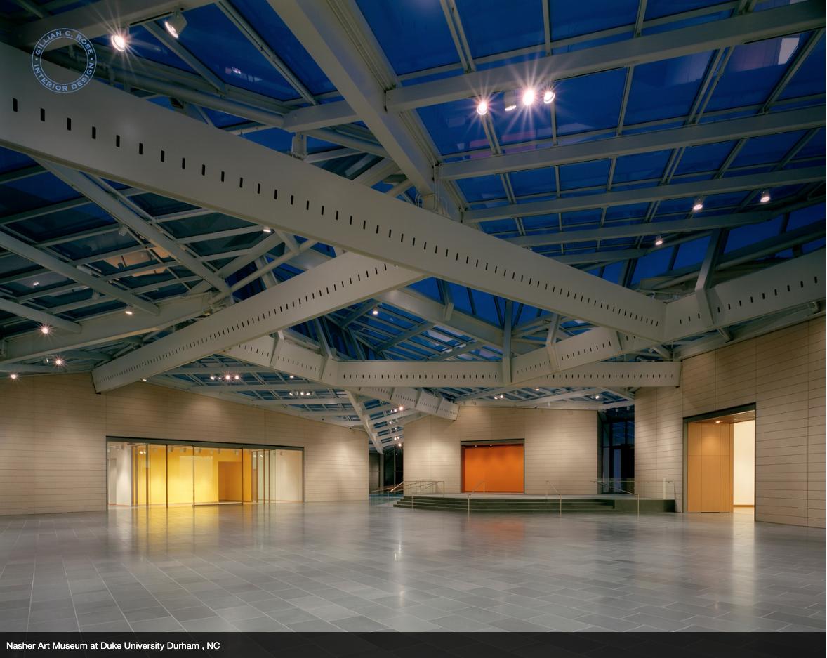Nasher Art Museum at Duke University, Durham NC designed by Gillian C. Rose