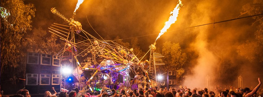 Maitreya 2013:      The Main Stage in full flow! Thanks to Adam Taylor for the awesome photo.