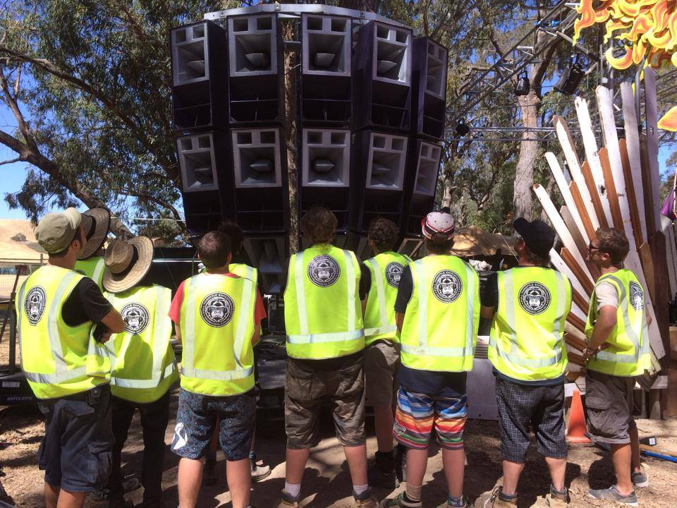 FTE Crew admiring their work