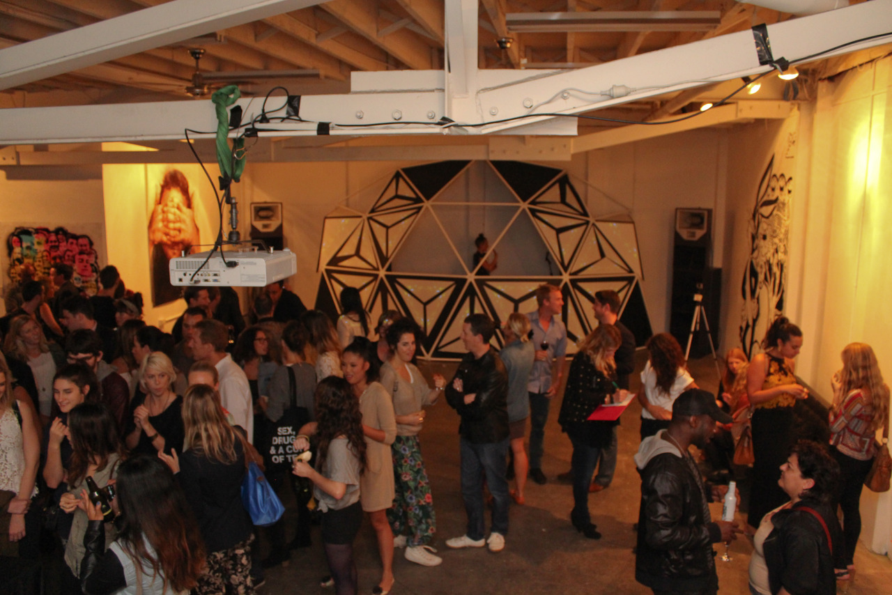 I-Manifestval Street and Laneway Party. Full Throttle Entertainment sponsored the event to help raise money for Sydney's creative youth.