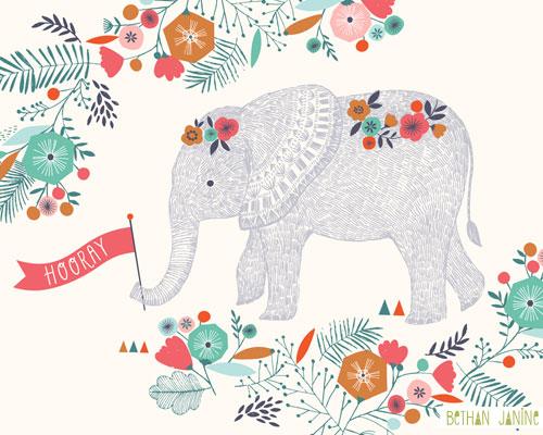 Hooray Elephant