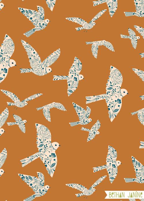 Flock birds