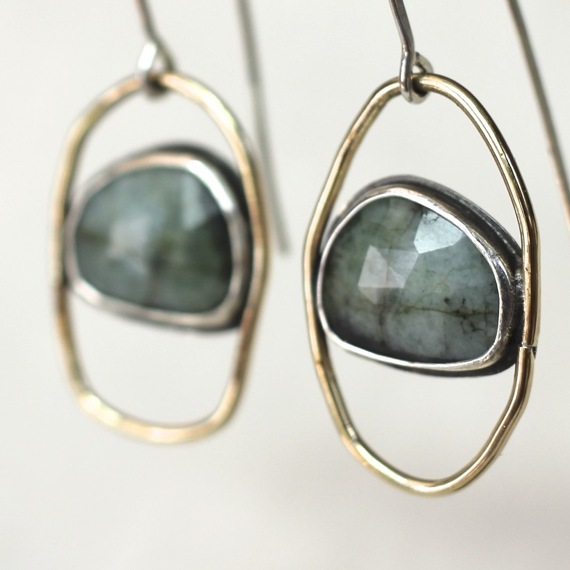 STIGA Short Earrings | siri hansdotter