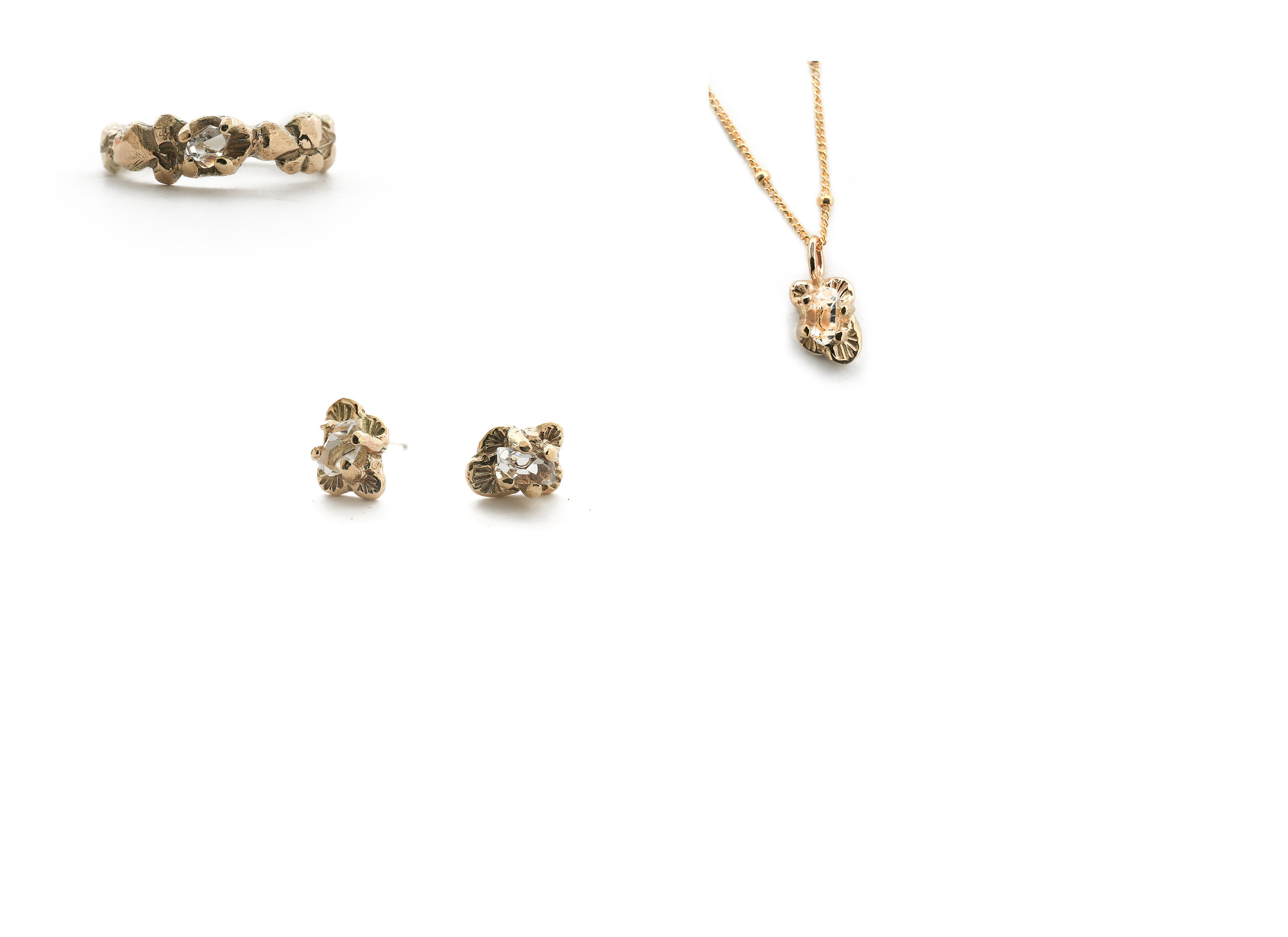 All your favorites in Vermeil - a more affordable gold option without sacrificing quality.