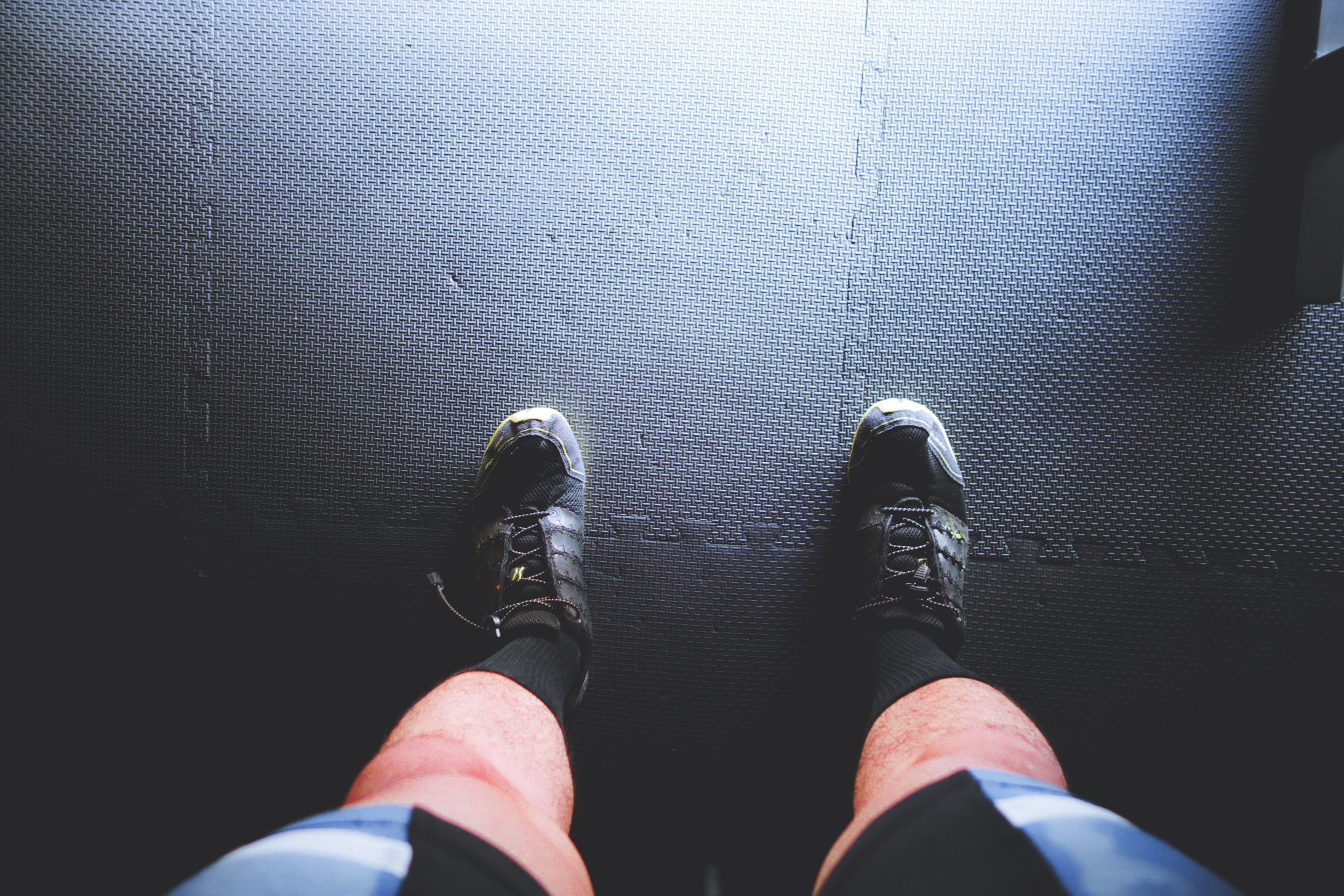 WIWT while working out. These are  inov-8 bare-xf 210 minimalist shoes . Probably the best shoes to deadlift in IMO.