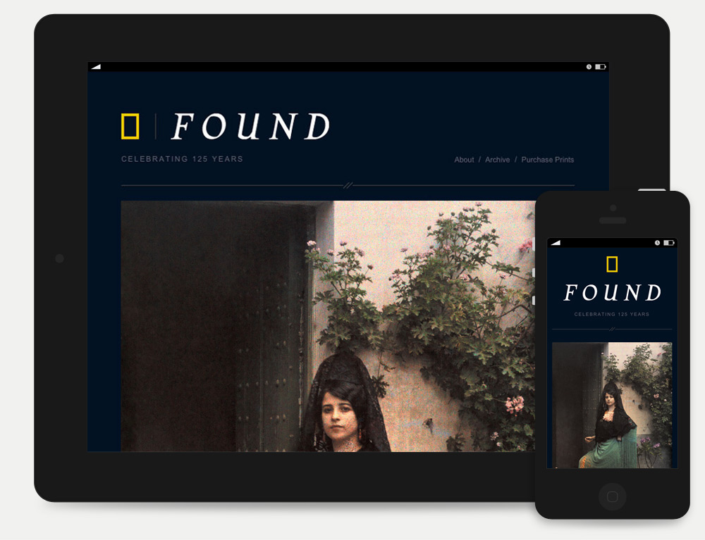 Found is responsive.
