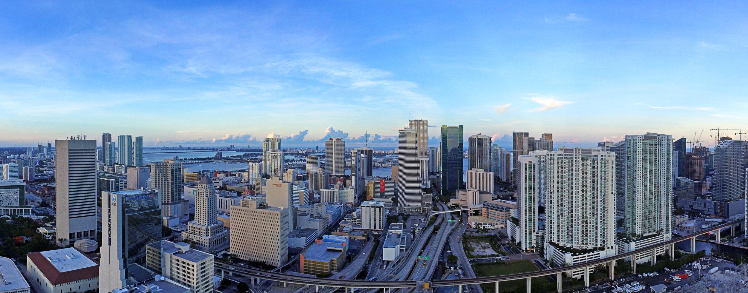 Skyline Panoramic - Downtown Miami, FL