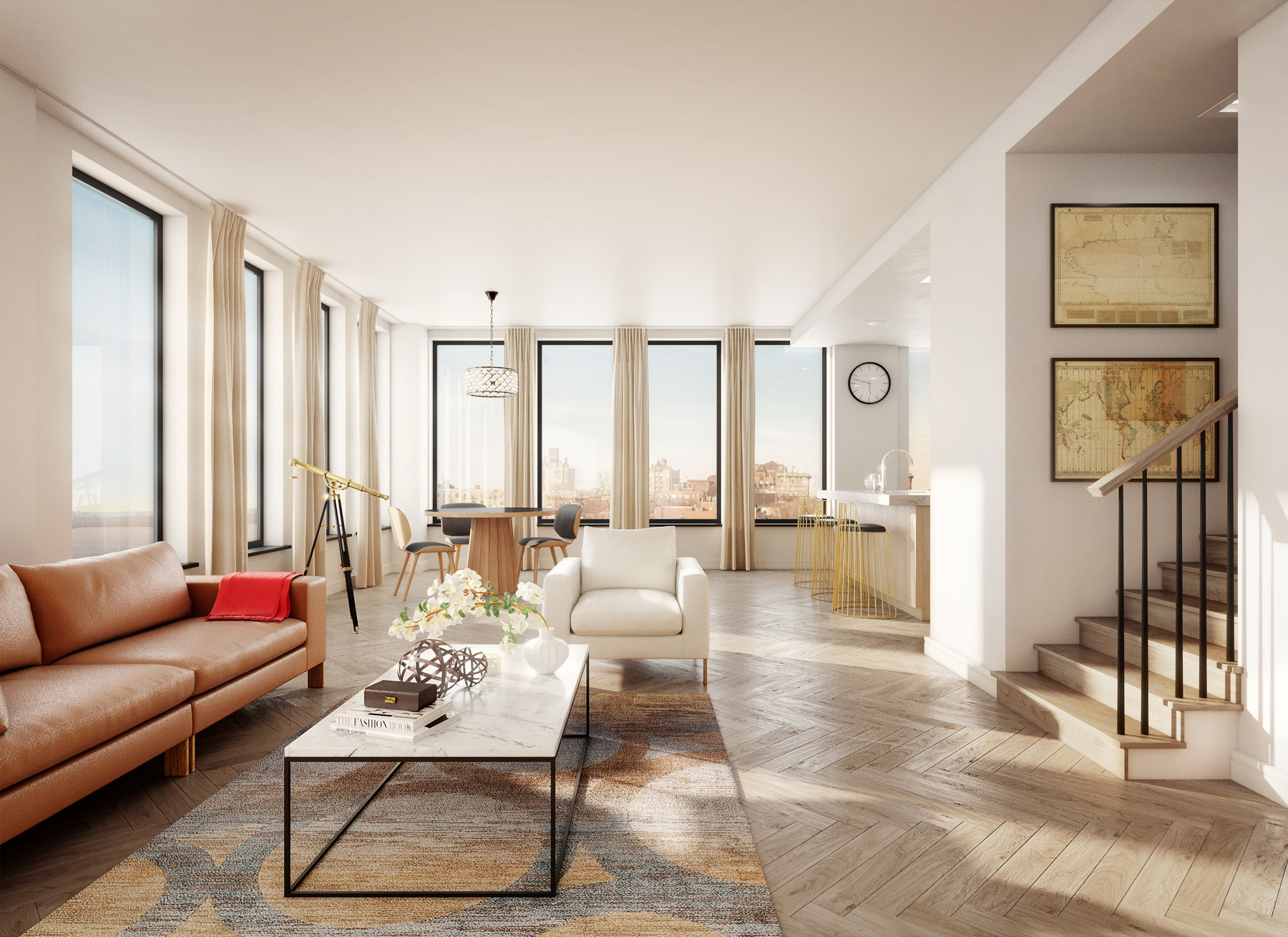 Brooklyn Cobblestone Development | 3D Rendering via Azeez Bakare Studios