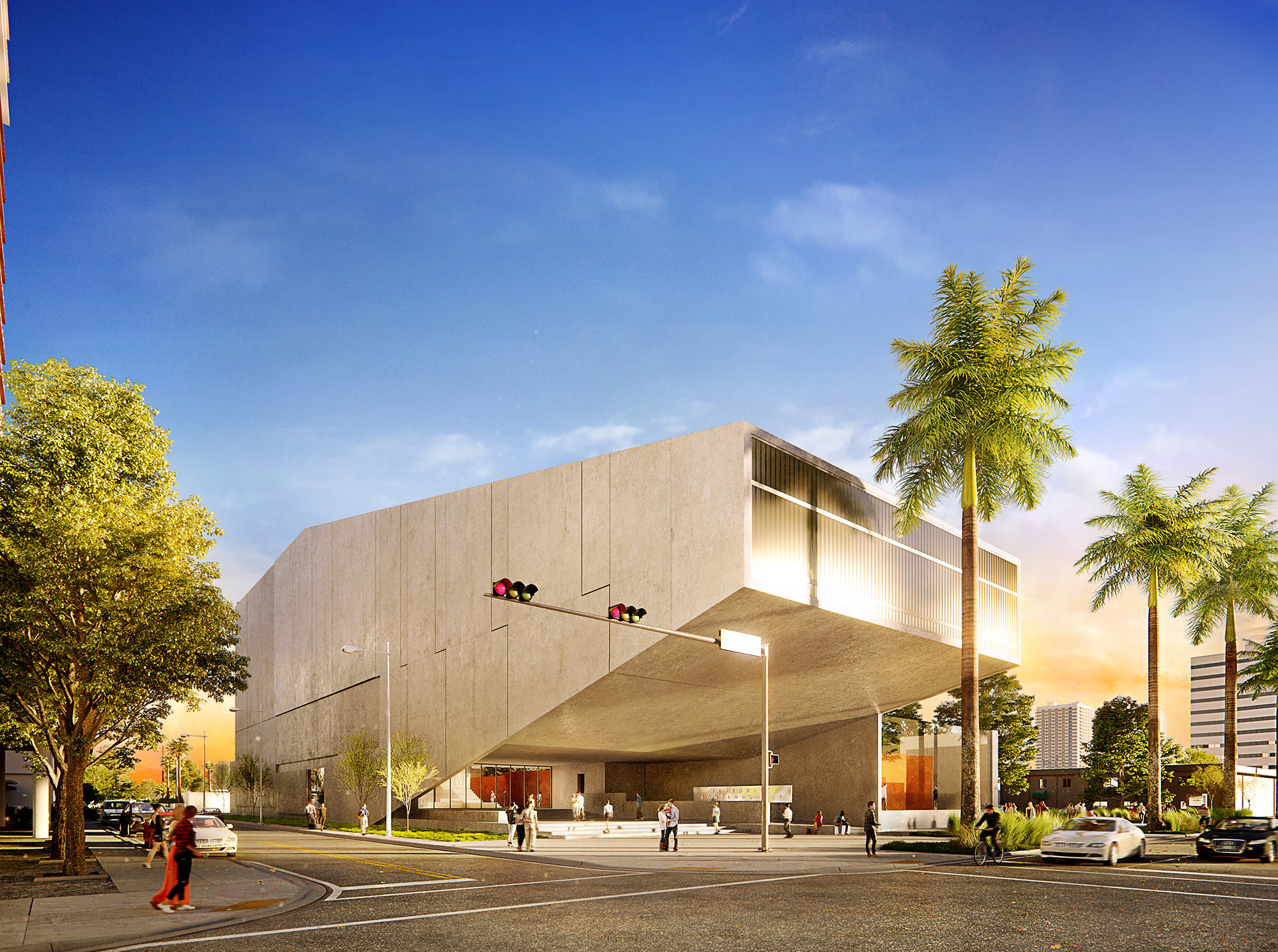 Berkowitz Contemporary Foundation | 3D Rendering via Azeez Bakare Studios
