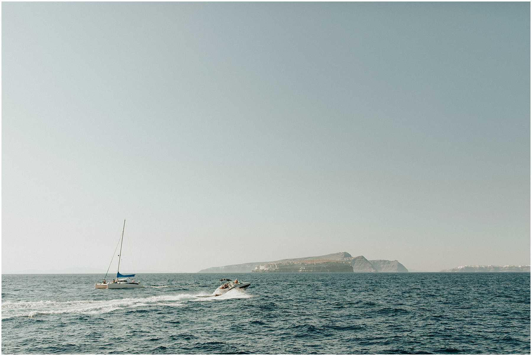 An Adventurous Elopement in Santorini, Greece