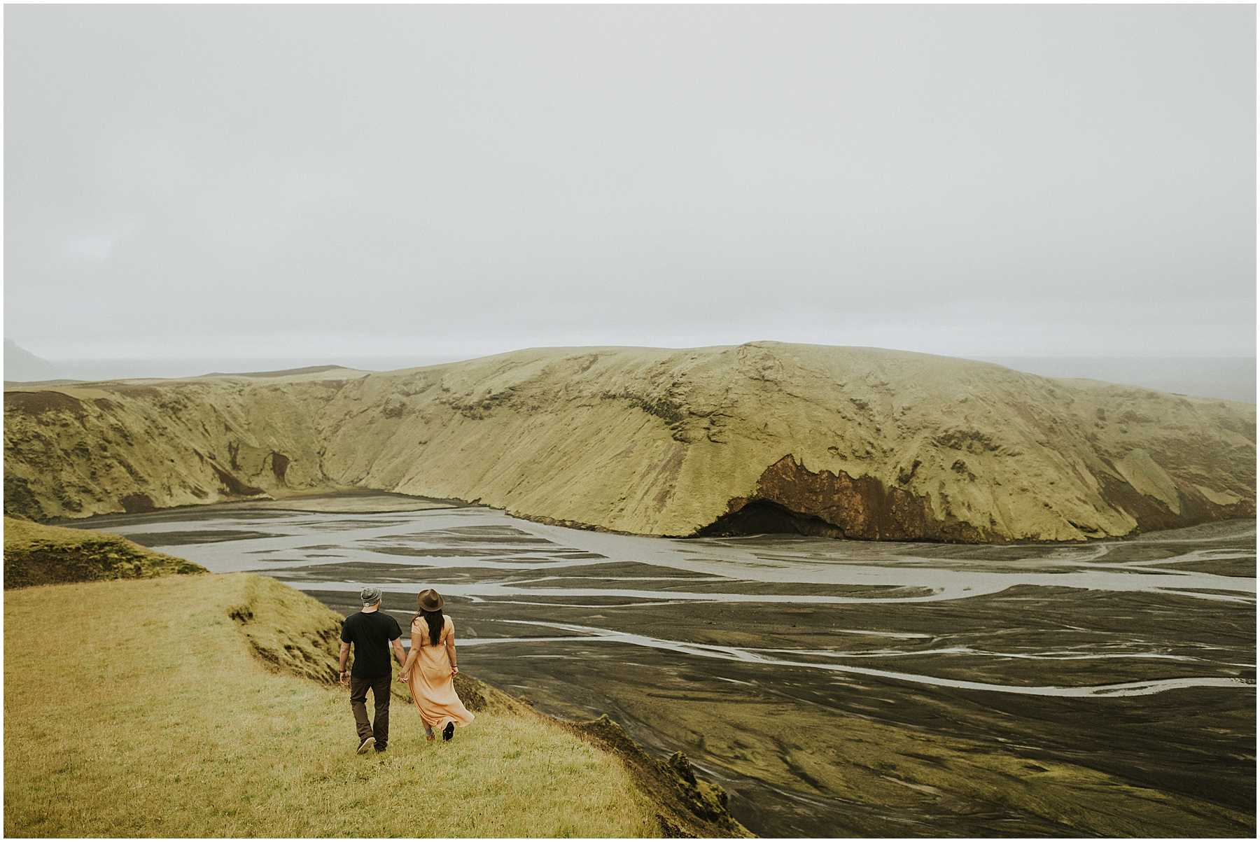An Adventurous Engagement Session in Iceland