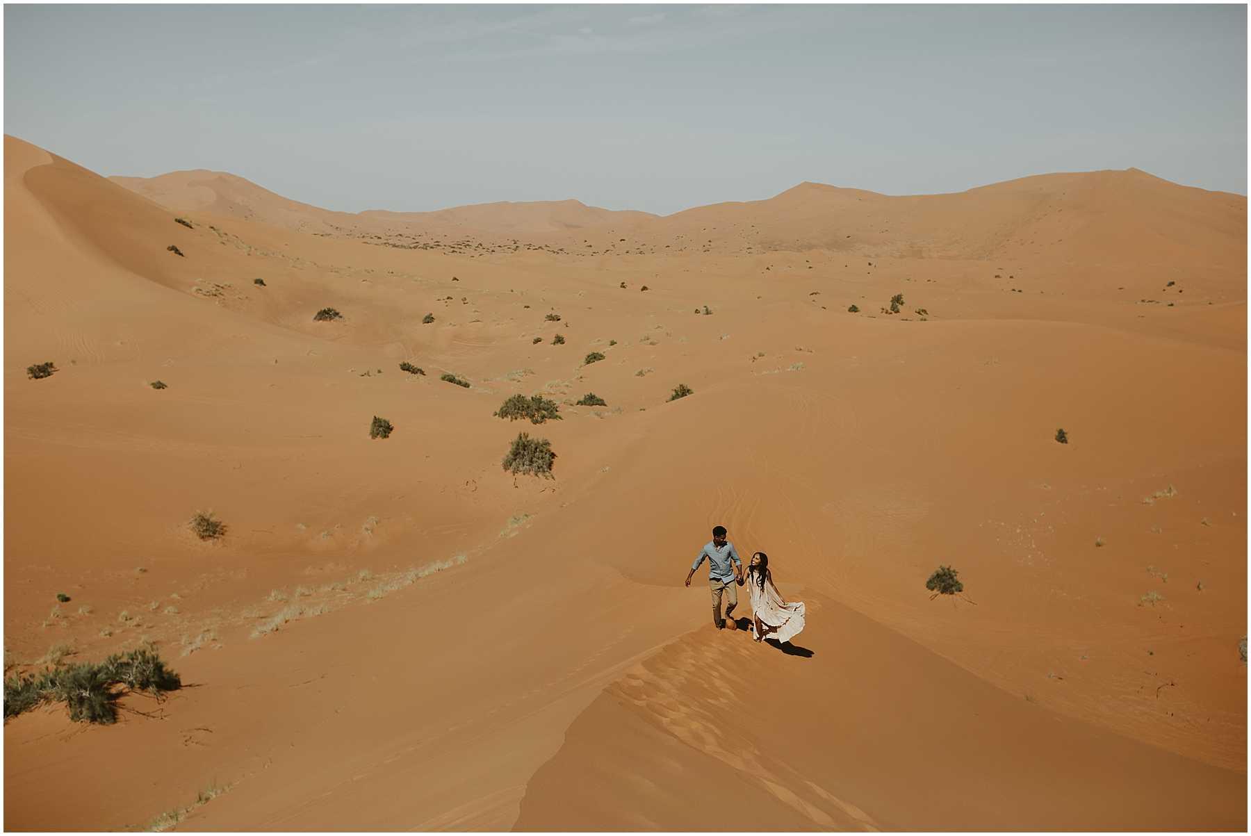 A Sahara Desert Elopement in Morocco