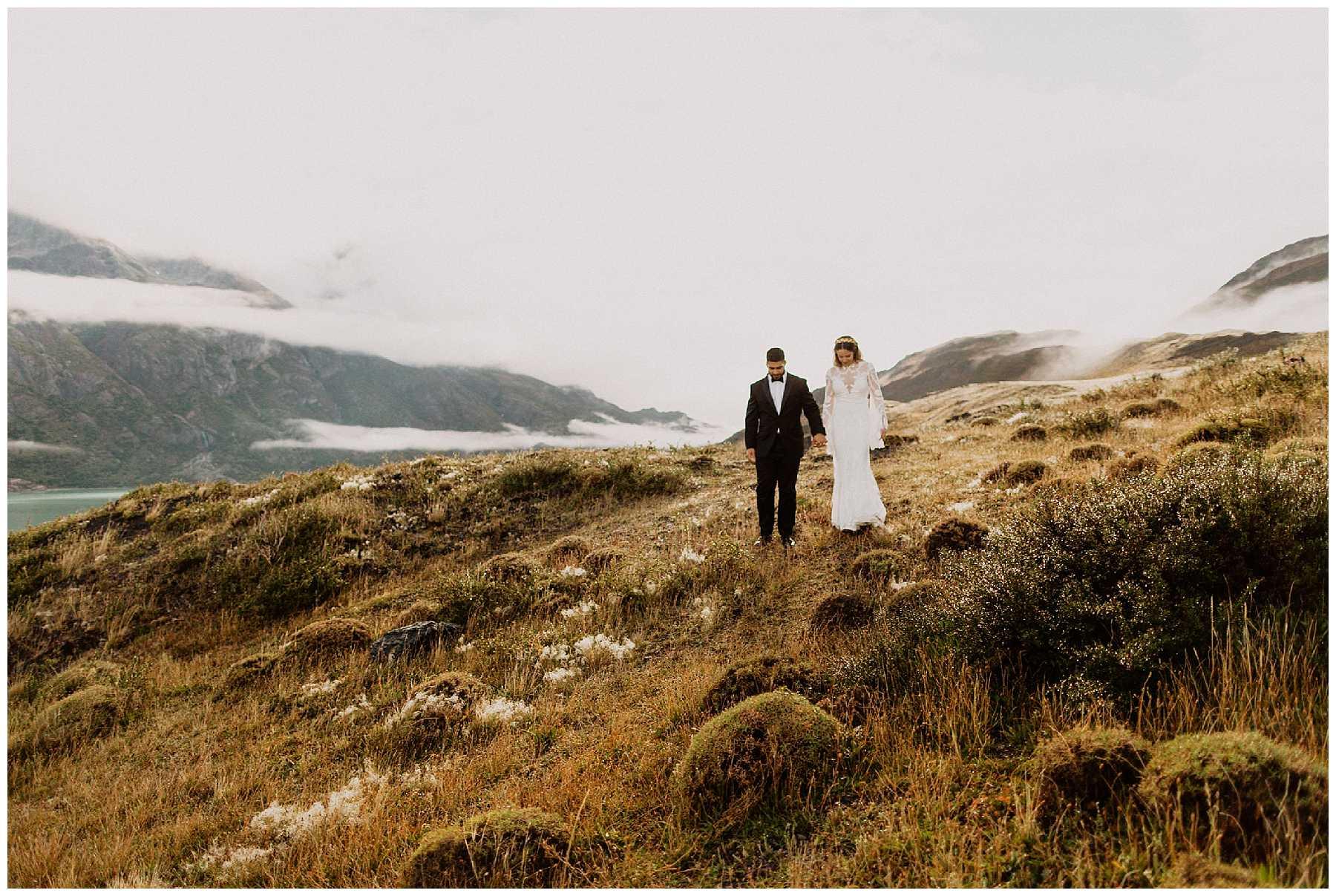 Sunrise Adventure Elopement in Patagonia, Chile