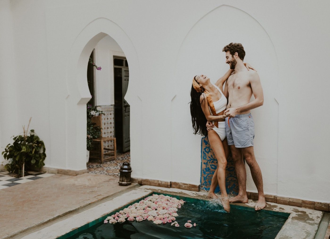 An Intimate Elopement in Marrakech, Morocco