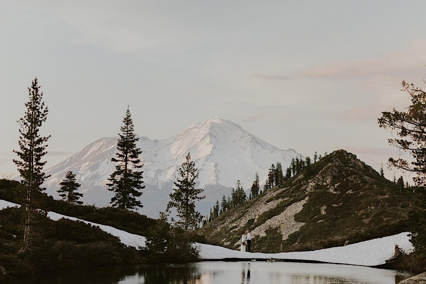 Mt Shasta California Adventure Elopement