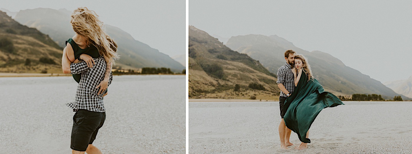 A surprise proposal in Queenstown, New Zealand