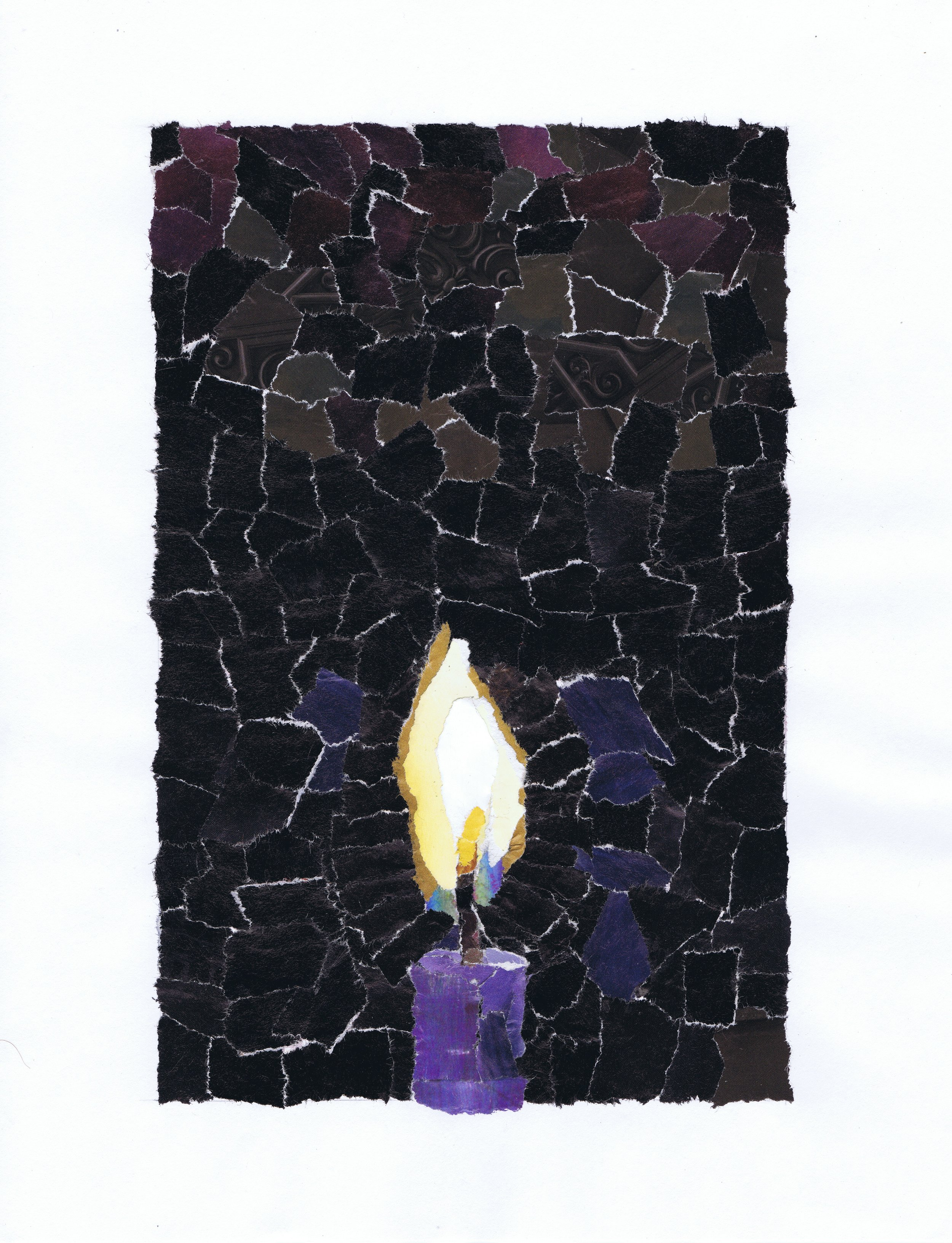 Art: Advent 1 by Carol Amidi, used with permission.