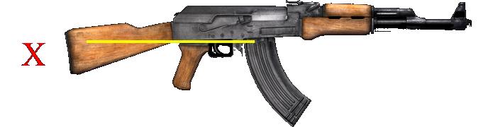"AK-47 Configured as an Assault Weapon with ""Detachable Magazine & Pistol Grip""."